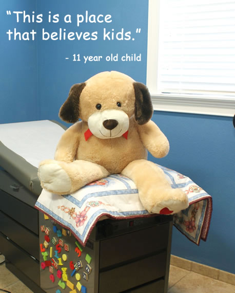 This is a place that believes kids - quote from 11 year old child